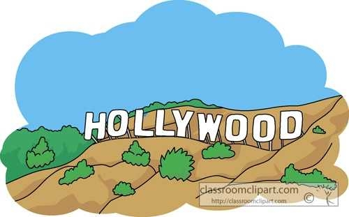 500x311 Clip Art Welcome To Hollywood Clipart Free Download On Hollywood