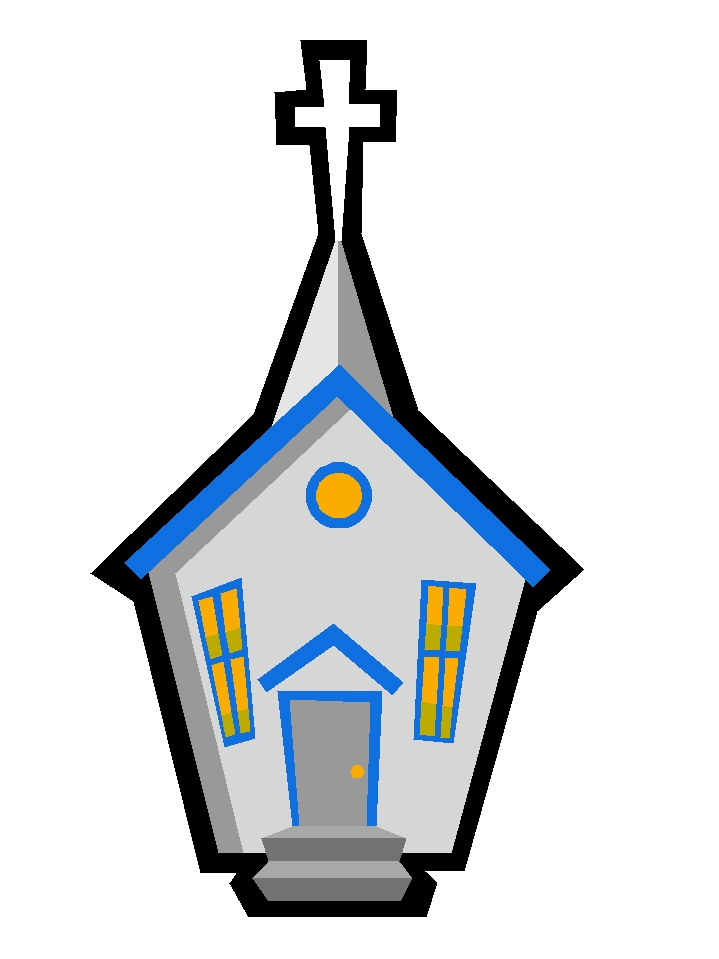 719x959 Church Library Clip Art