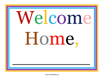 364x281 Printable Airport Welcome Sign Sign