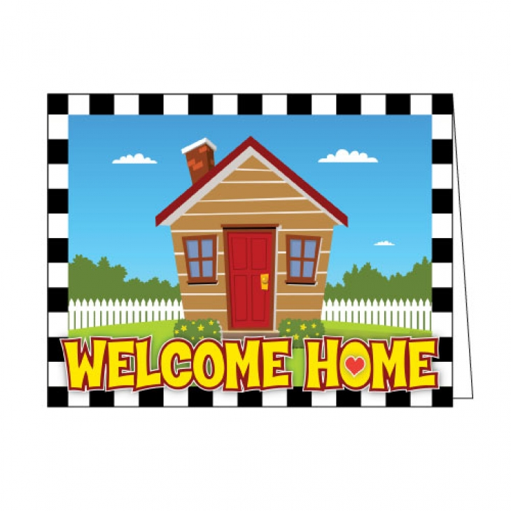 730x730 Welcome Greeting Card Country House Reinforces Your Resident