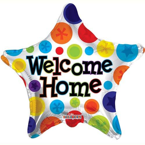 500x500 Welcome Home Foil Balloon The Muslim Sticker Company