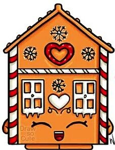 227x296 Drawings Of Gingerbread Houses Gingerbread House Zentangle 1