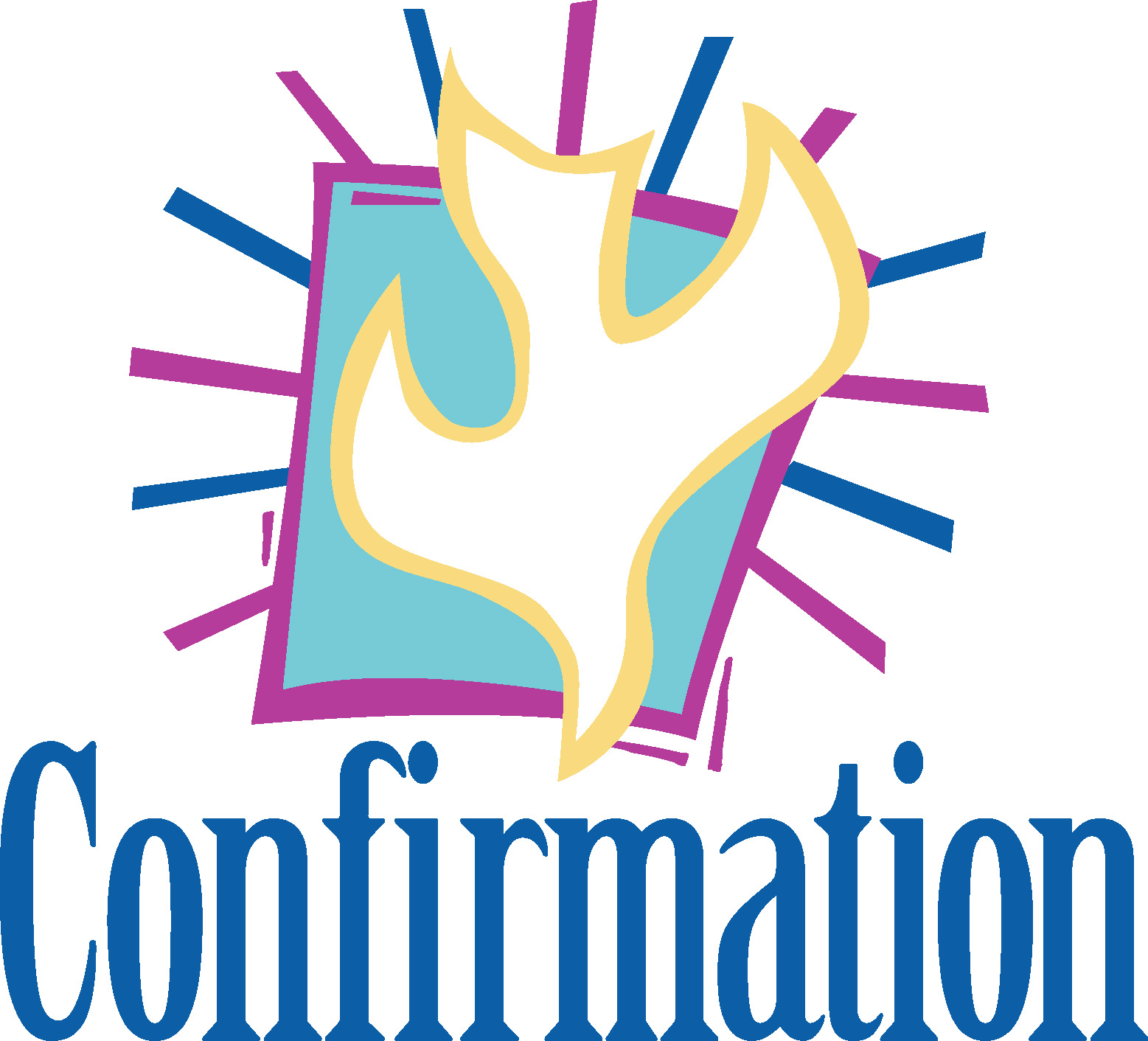 1557x1412 Confirmation Clipart