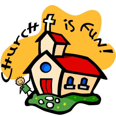 400x400 Image Church Is Fun Church Clip Art
