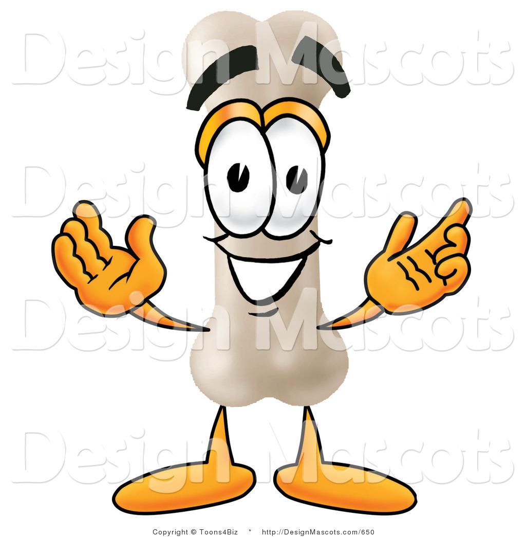1024x1044 Stock Mascot Cartoon Of A Happy Bone Mascot Cartoon Character
