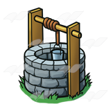 160x160 Stone Clipart Stone Well