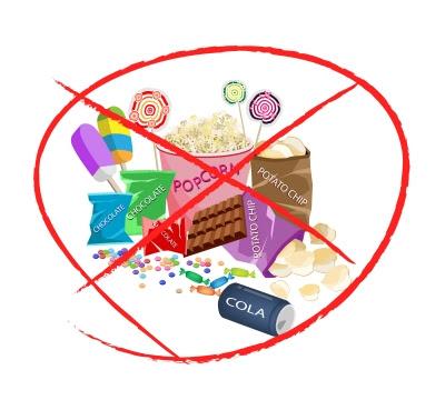 400x360 Clip Art Say No Junk Food Clipart