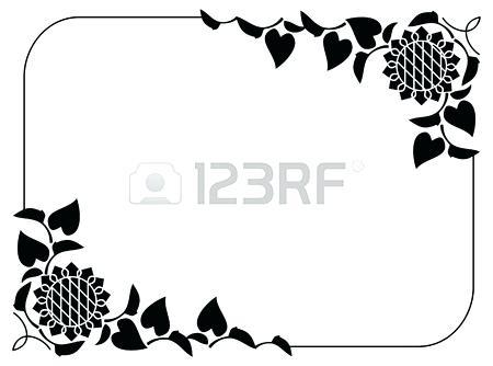 450x334 Sunflower Clipart Sunflower Black And White Sunflower Clip Art