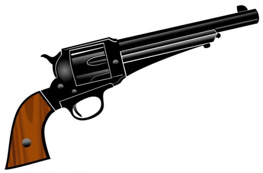 518x341 Cowboy Clipart Cowboy Gun