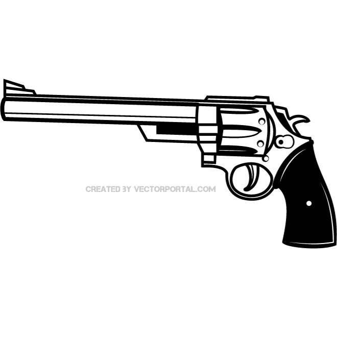 660x660 Revolver Vector Art. Various Vectors Revolvers