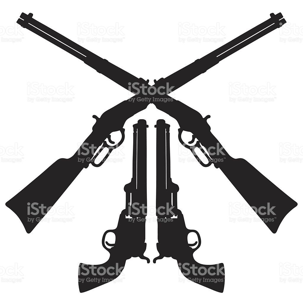 1024x1024 Rifle Clipart Western Gun