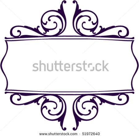450x443 Decorative Scroll Clipart