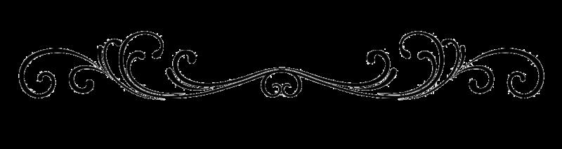 800x212 Scroll Border Clip Art