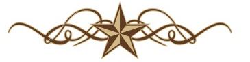 365x91 Western Star Border Clip Art
