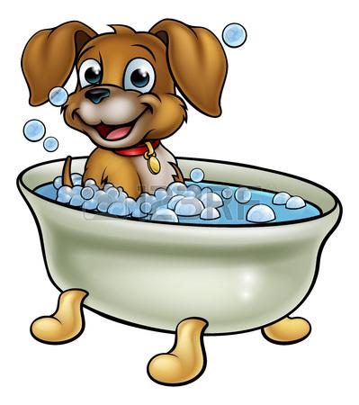 399x450 1,296 Dog Bath Stock Vector Illustration And Royalty Free Dog Bath