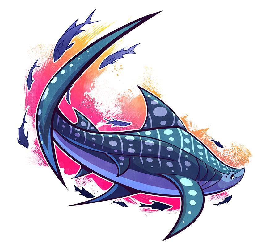 900x795 Sharkweek Whale Shark By