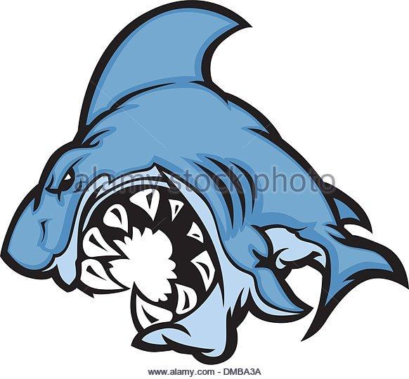 582x540 Shark Mascot Stock Photos Amp Shark Mascot Stock Images