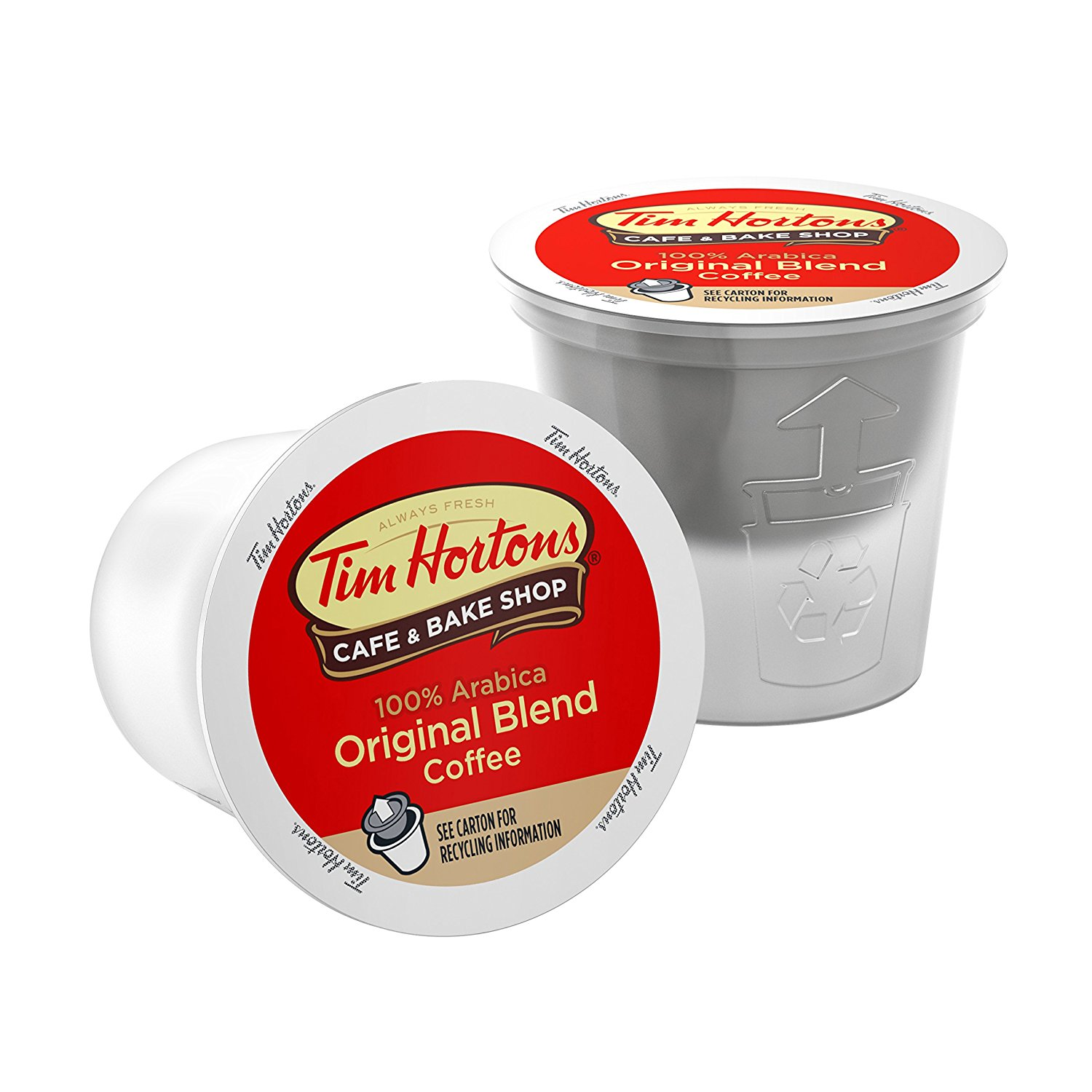 1500x1500 Tim Horton's Single Serve Coffee Cups, Original Blend, 12 Count