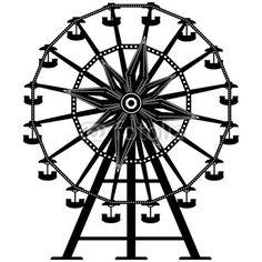 236x236 Carnival Ferris Wheel Clip Art Vector Clipart Of A Ferris Wheel