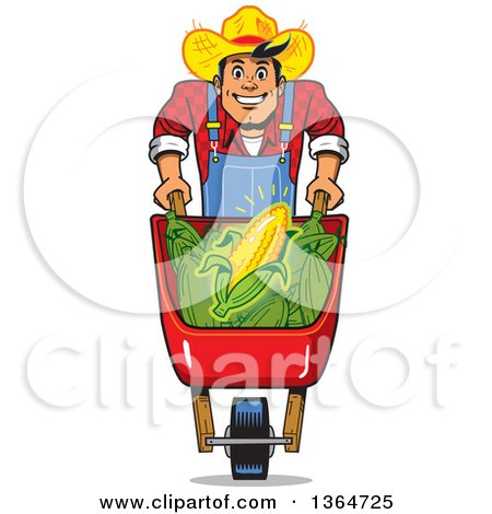450x470 Royalty Free (Rf) Wheelbarrow Clipart, Illustrations, Vector