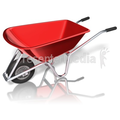 400x400 Wheelbarrow