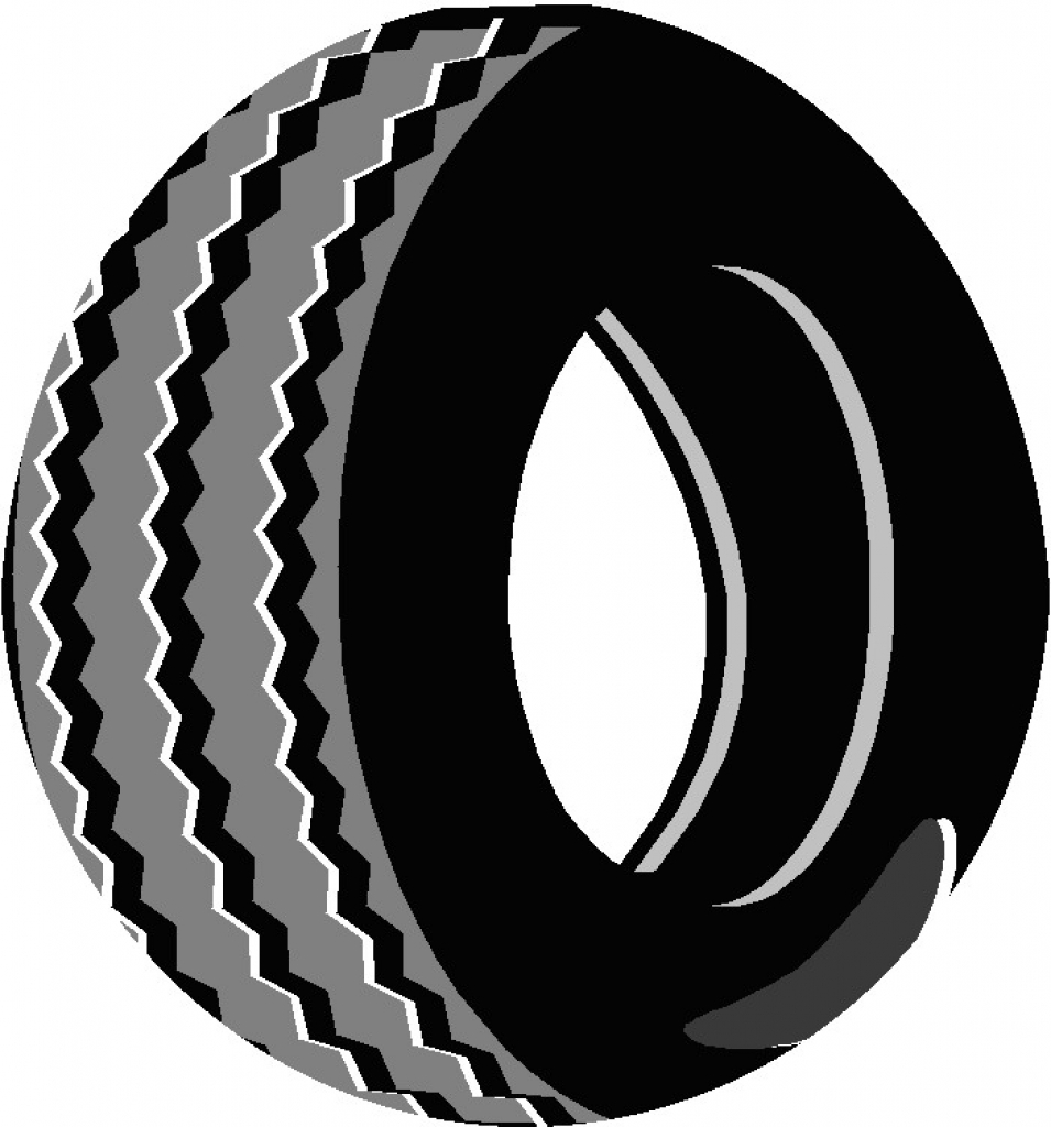 955x1024 Tires Clipart Animated