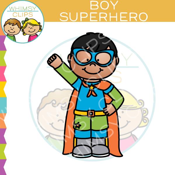 600x600 Boy Superhero Clip Art , Images Amp Illustrations Whimsy Clips