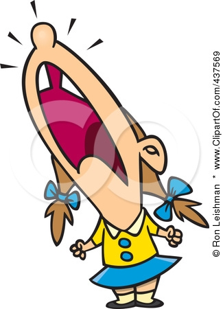 325x450 Free Clipart Images Kids Screaming