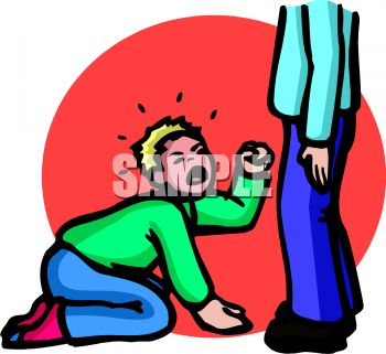 350x321 Royalty Free Clip Art Image A Spoiled Boy Crying