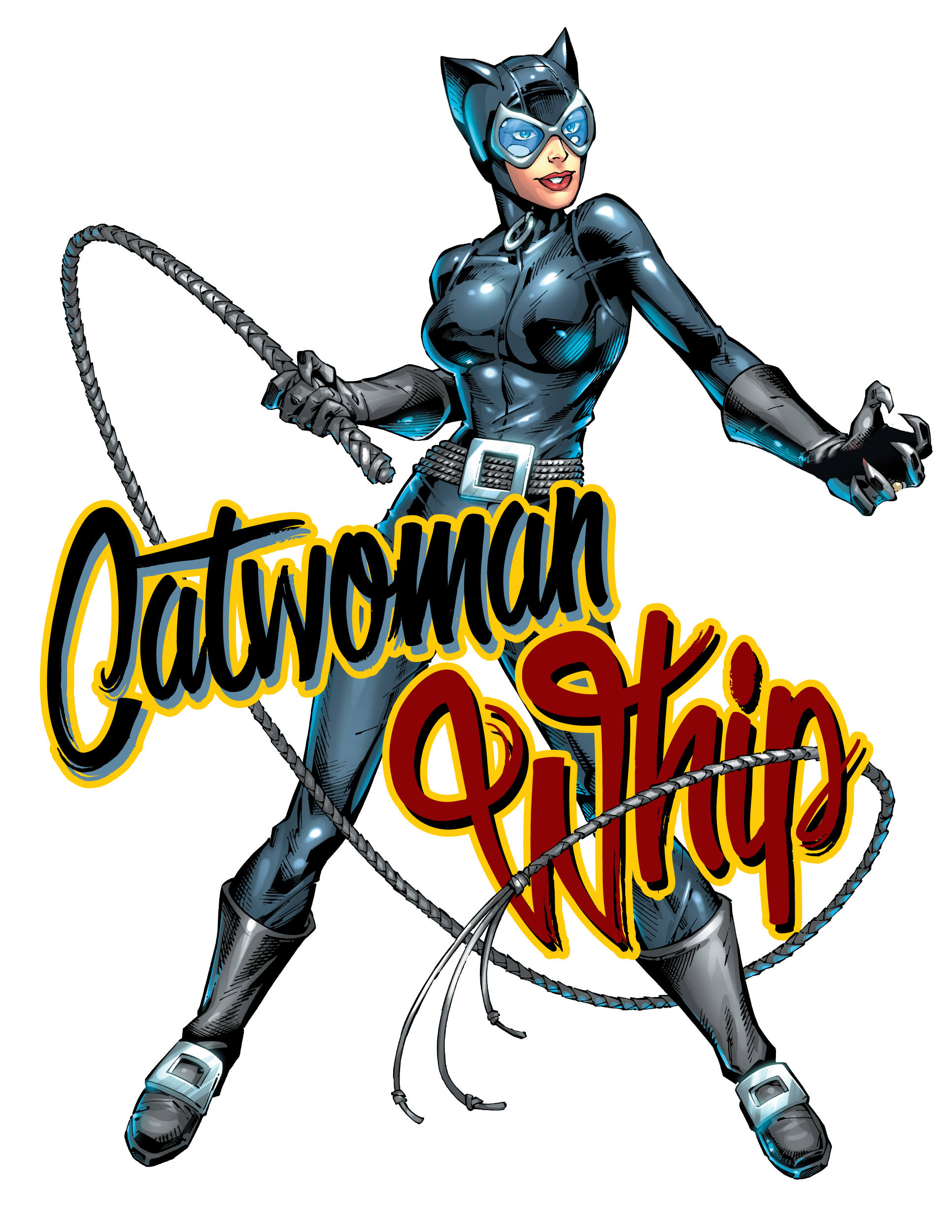 1912x2472 Catwoman Clipart Whip
