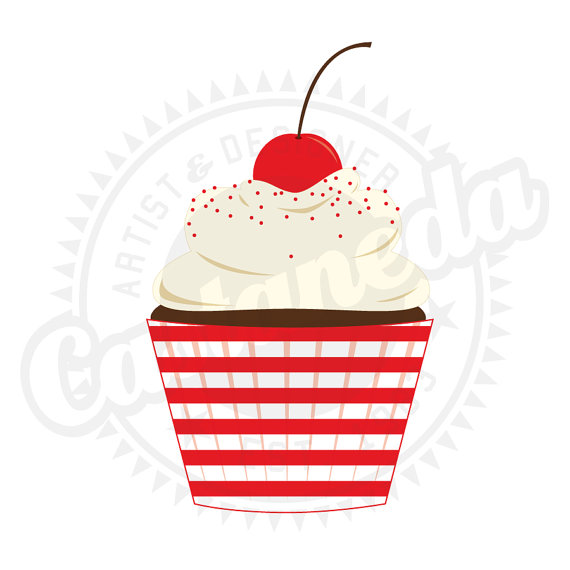 570x570 Red Cupcake Clipart, Explore Pictures