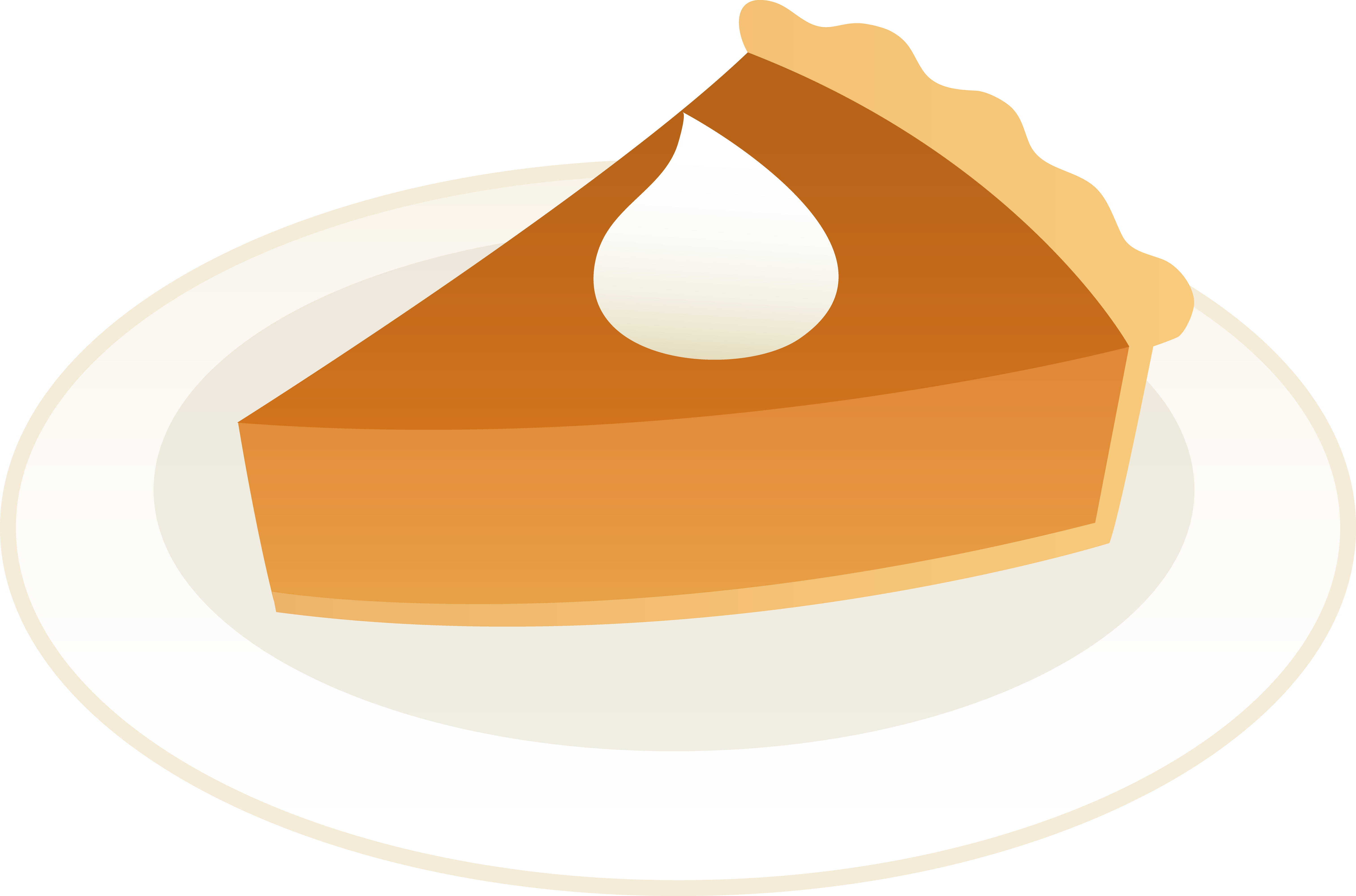 6055x4003 Slice Of Pumpkin Pie On Plate