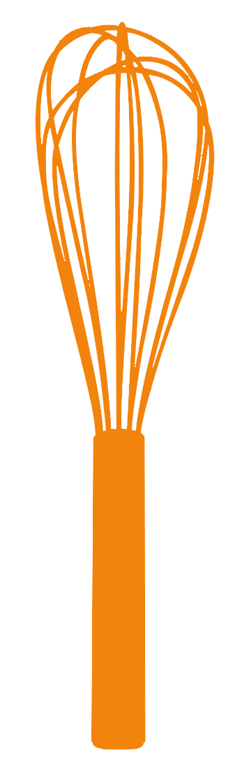 347x1109 Gold Clipart Whisk