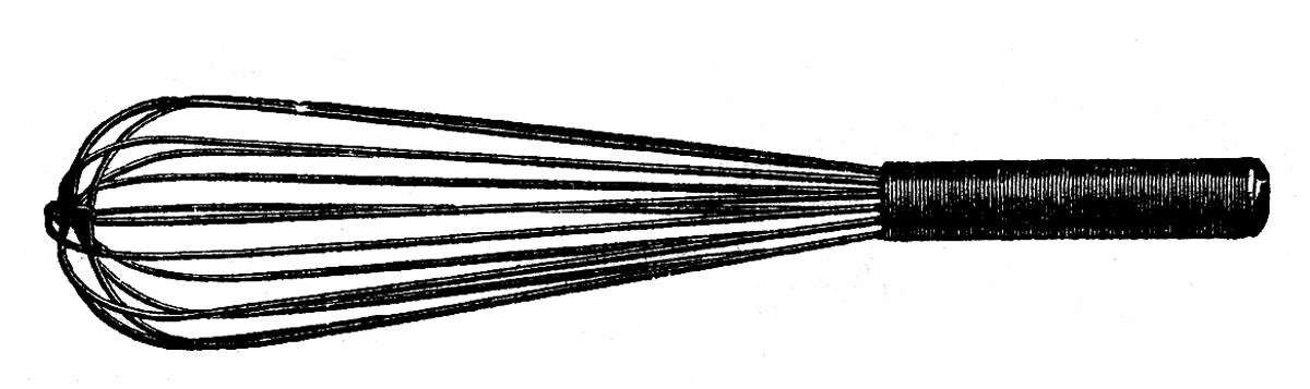 1200x357 Vintage Clipart Whisk