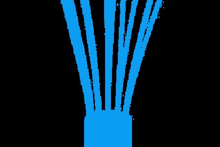 450x300 Whisk Clip Art Blue
