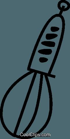 242x480 Whisk Royalty Free Vector Clip Art Illustration Vc044995