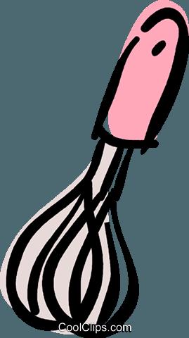 269x480 Whisk Royalty Free Vector Clip Art Illustration Vc040410