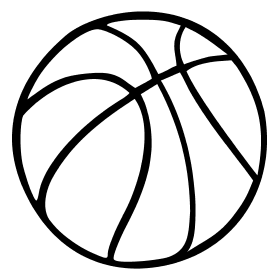 280x280 Whites Only Basketball