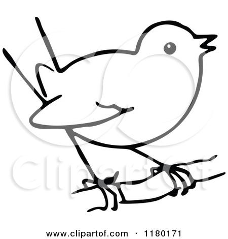 450x470 Bird Clipart Black And White