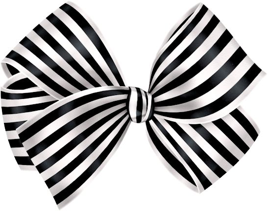 White Bow Clipart