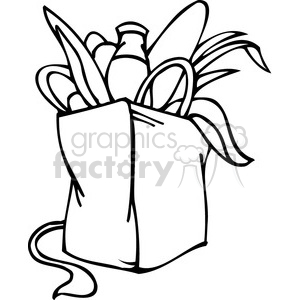 300x300 Royalty Free Black And White Clip Art A Democrat Bag
