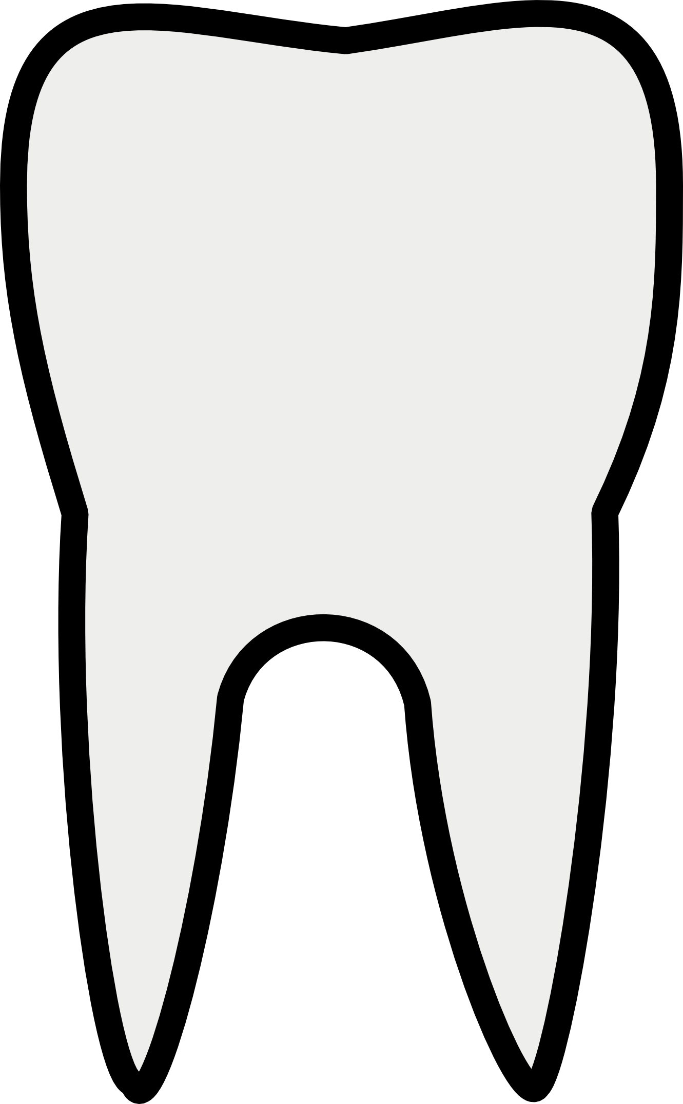 1331x2153 White Clip Art