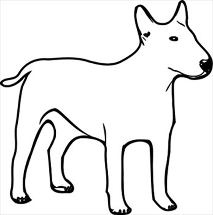 700x706 Dog Black And White Dog Clipart Free Black And White Clipartfest