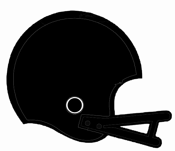 600x519 Black Football Helmet Clip Art