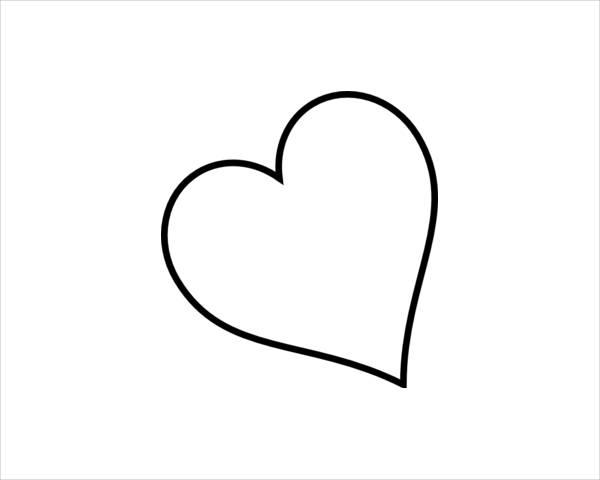 White Heart Clipart