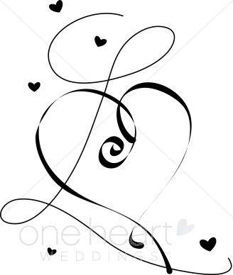 White Hearts Clipart