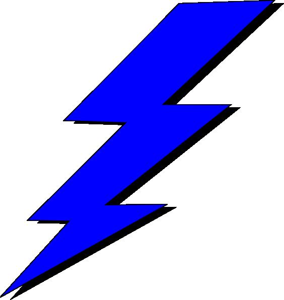 White Lightning Bolt