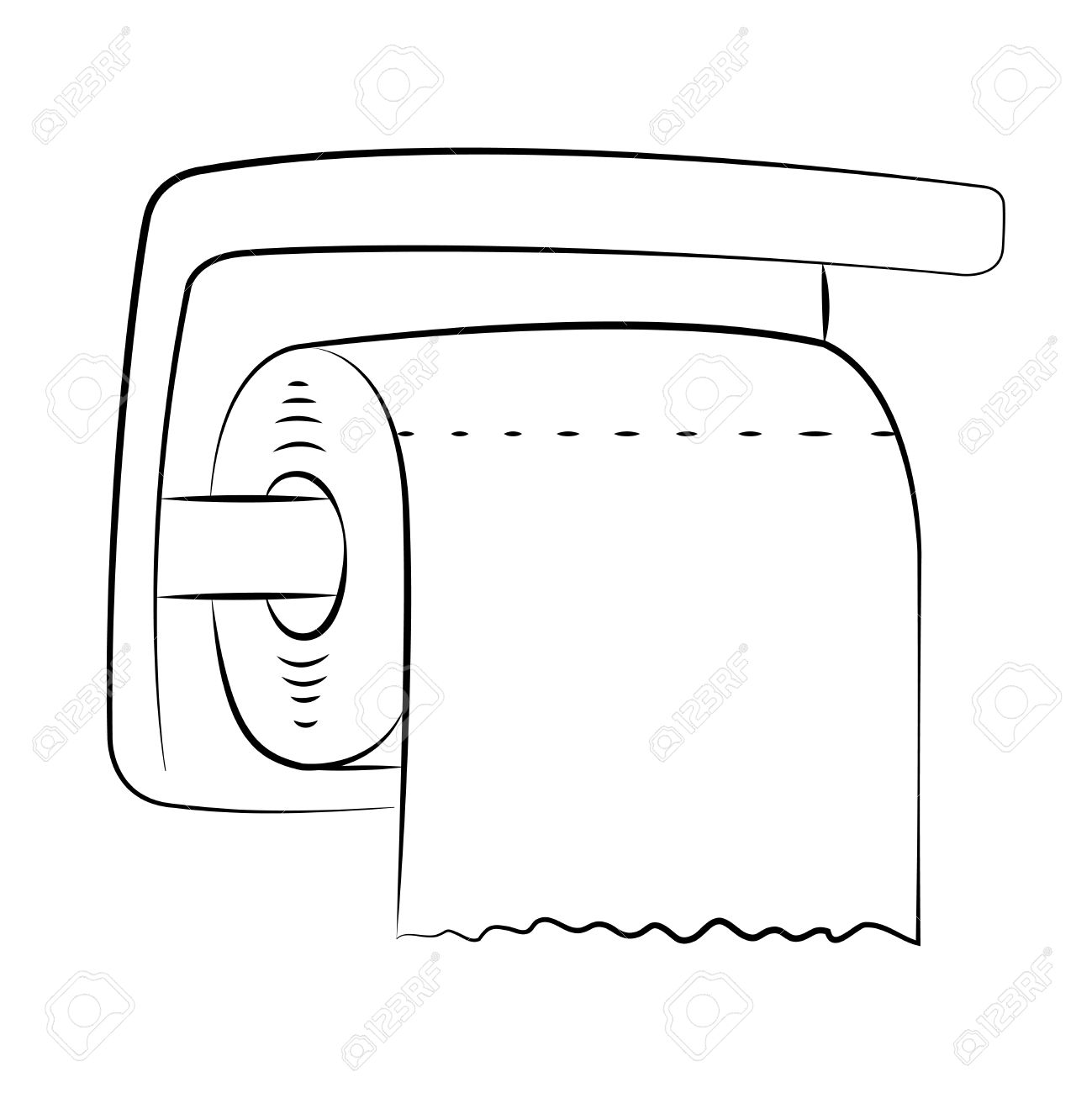 1299x1300 Bathroom Tissue Clipart