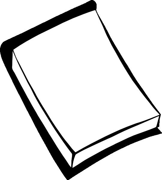 540x600 Paper Clipart Pad Paper