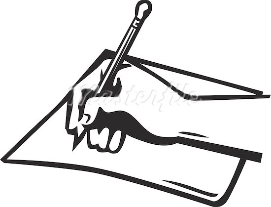 550x419 Journalist clipart pad paper